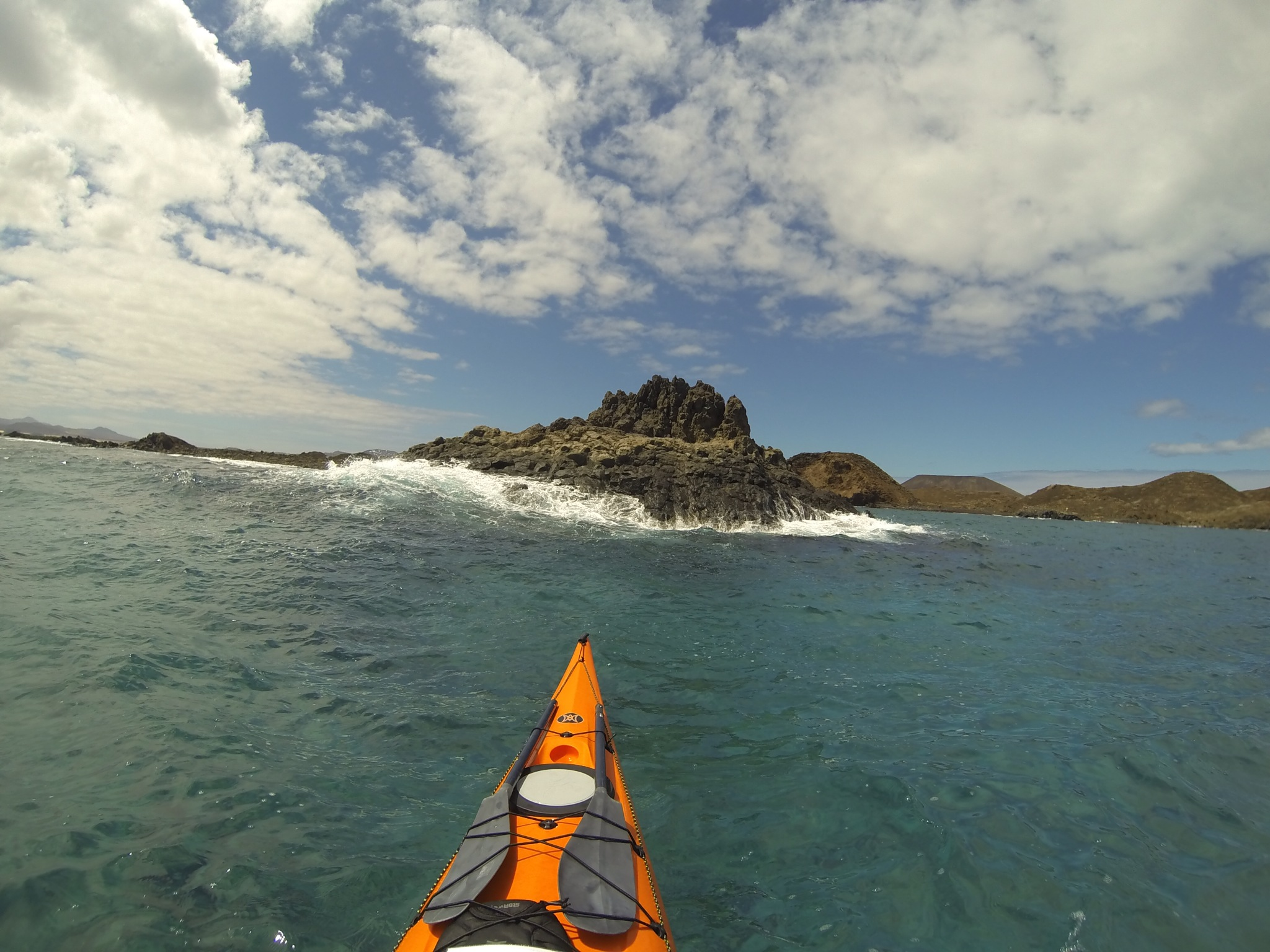 Reaching Lobos Island