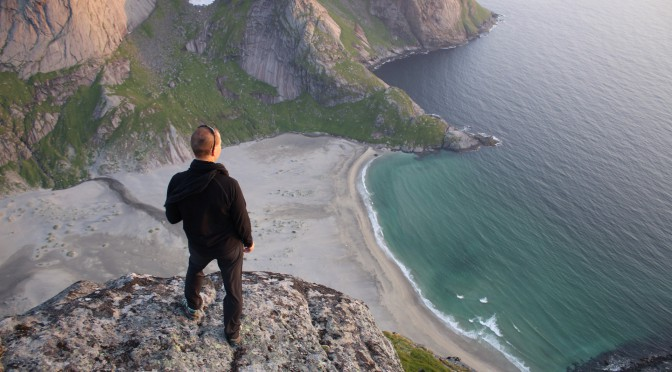 Remote beaches in Lofoten