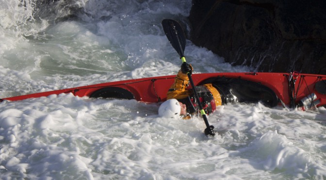 Self rescues and buddy rescues for sea kayakers