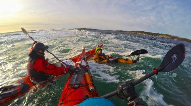 Safety equipment for sea kayakers (Norwegian only, sorry)